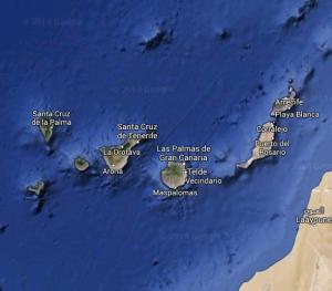 L'arcipelago delle Canarie