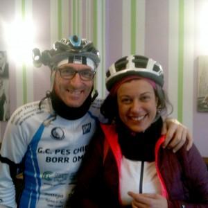 Novembre 2014, pedalando con Claudio da Lodi a Pizzighettone