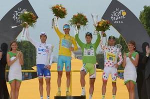Premiazione finale (Foto presa dal sito del Tour)