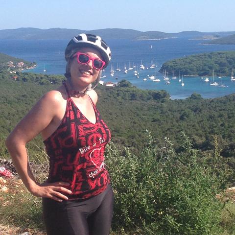 Agosto 2014, pedalando per le isole del Quarnero, Croazia