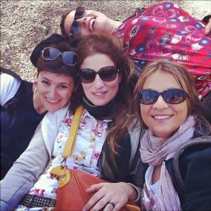 """Aprile 2014,  """"fuori di salone"""" con le amichette d'ufficio"""