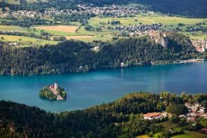 Il lago in primavera