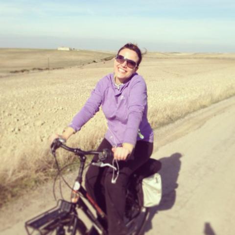 Gennaio 2014, pedalando in Andalusia