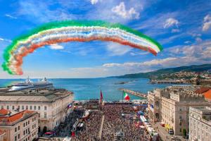 Giugno 2014, il Giro d'Italia arriva a Trieste