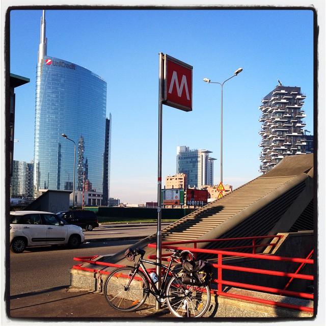 Intermodalità, bici gratis in metro a Milano
