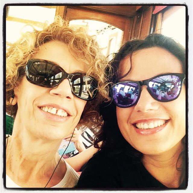 Selfie con mamy