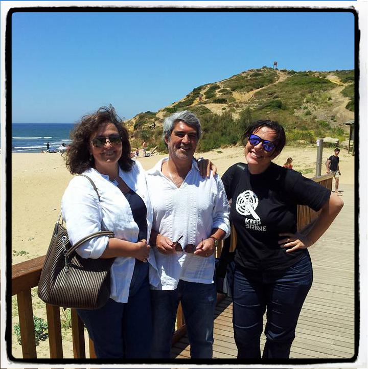 Con Maria Joao e Jorge