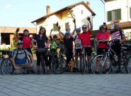 Amibici, pedalando al tramonto lungo la Muzza