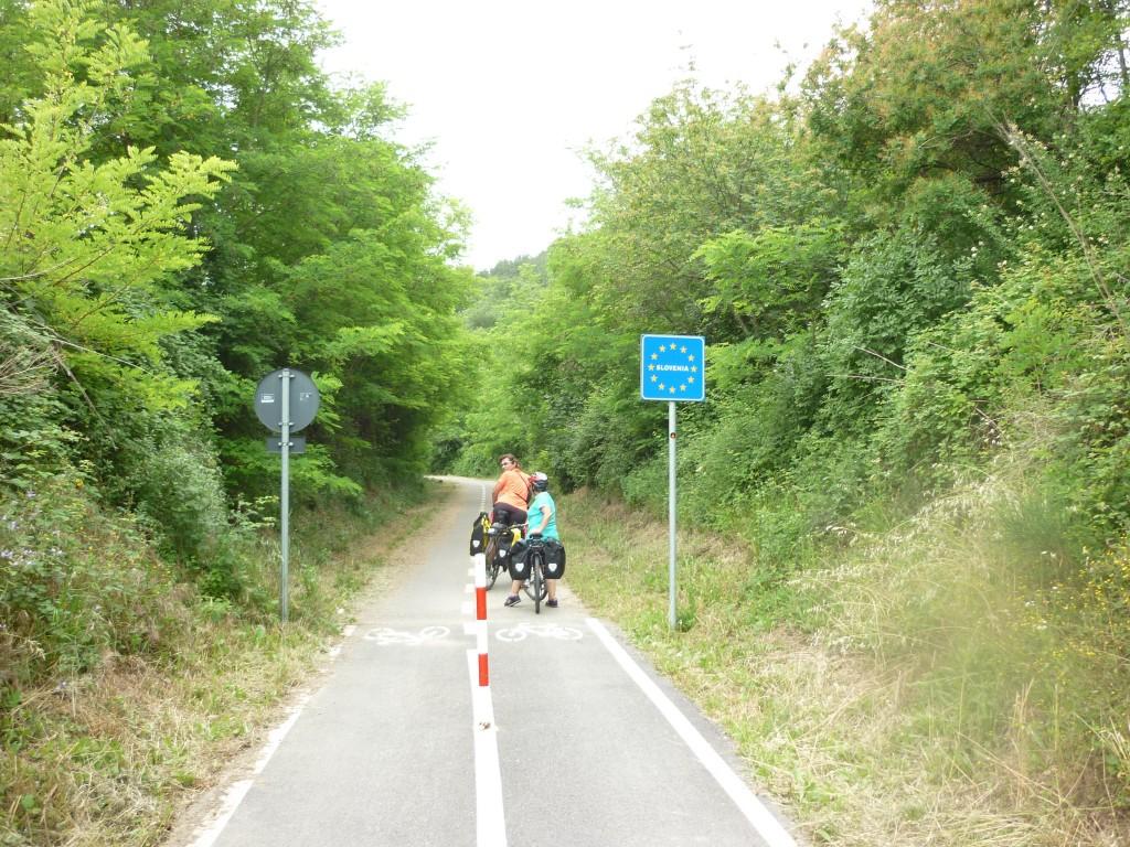 Il confine con la Slovenia