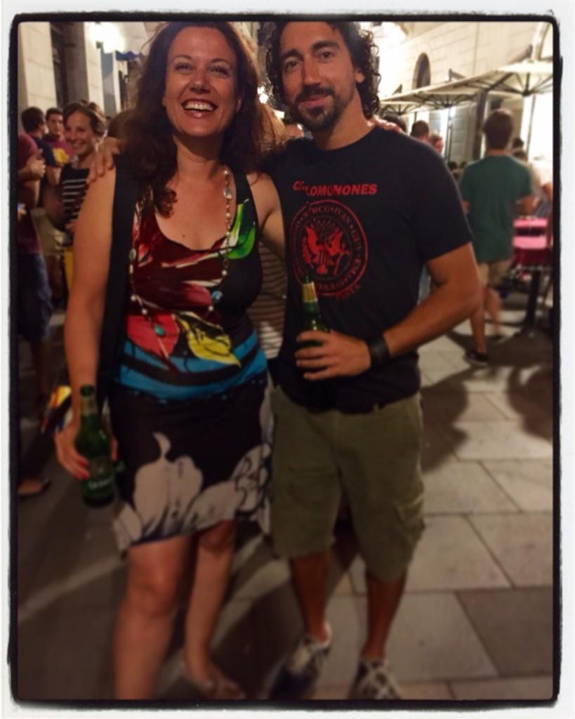 Con Diego Manna
