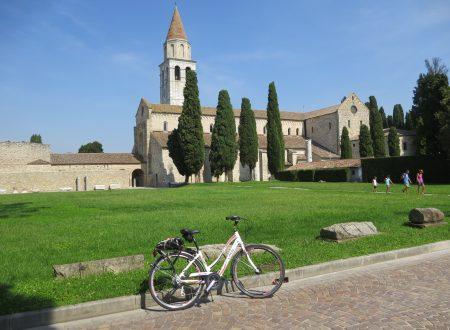 La ciclabile Aquileia, Grado, Monfalcone