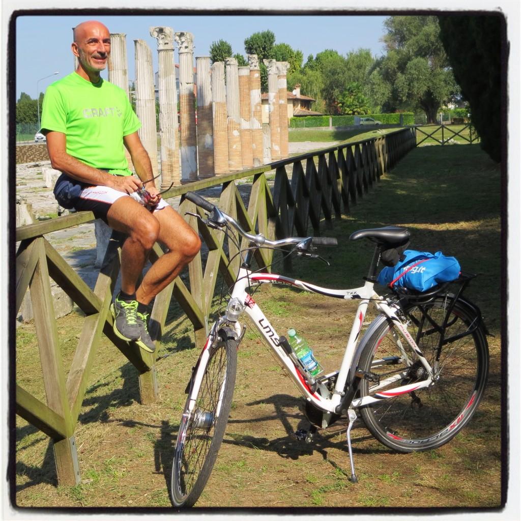 Aquileia e le rovine del foro