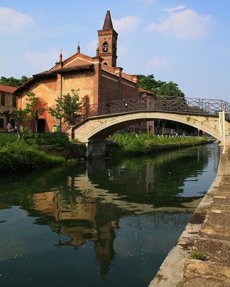 La chiesa di San Cristoforo, angoli della vecchia Milano