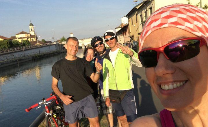 La prima gita di Bici Veg