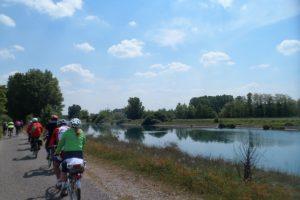 la ciclabile del Mincio da Peschiera sul Garda a Mantova