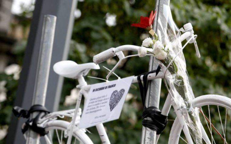 Adesso basta morti in strada! Una pedalata per Franco