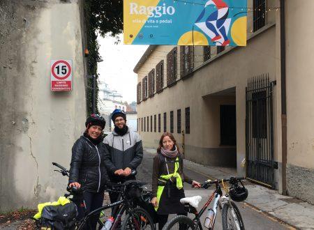 A Raggio in bici